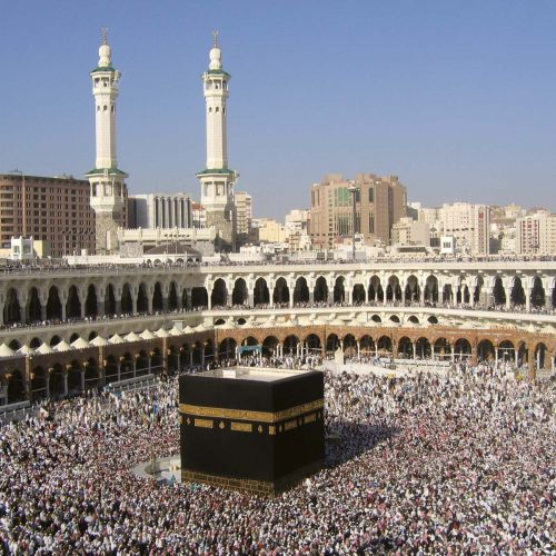 Kabah-hajj-pilgrims-Saudi-Arabia-Mecca